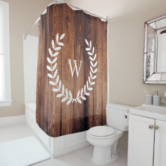 Farmhouse Rustic Country White Laurels Wood Planks