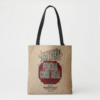 Farmhouse Style Burlap Feed Sack Flour Sack Grain Tote Bag