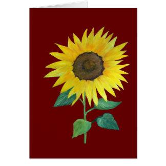 Farmhouse Sunflower Card
