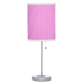 Farmhouse-Vintage-Pink-Shades-Lamps Table Lamp