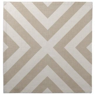 Farmhouse X Beige Linen Cloth Napkins