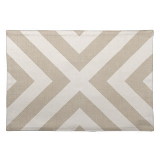 Farmhouse X Beige Linen Placemat
