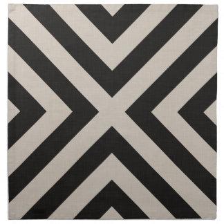 Farmhouse X Black Linen Cloth Napkins