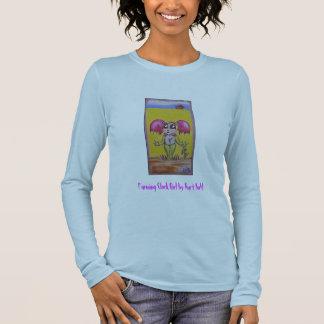 Farming Clock Girl Long Sleeve T-Shirt