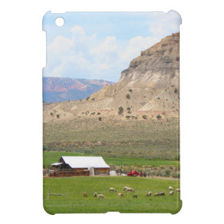 Farming country and hills, southern Utah iPad Mini Cover