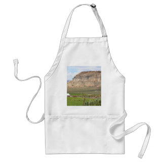 Farming country and hills, southern Utah Standard Apron