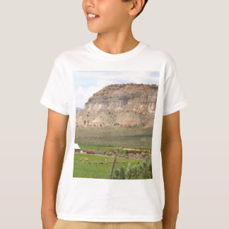 Farming country and hills, southern Utah T-Shirt