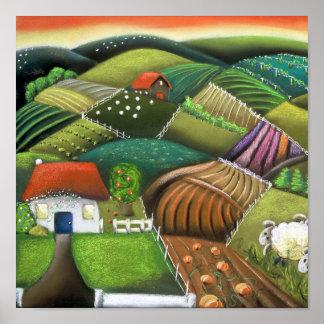 Farming in the Wairarapas Poster