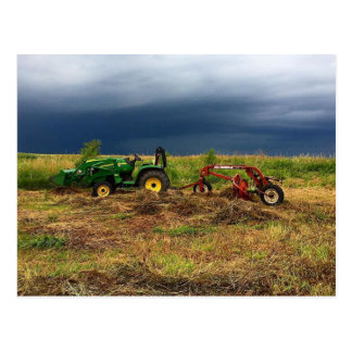 Farming Post Card