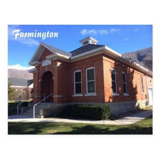 Farmington - City Hall Postcard
