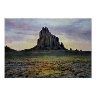 Farmington New Mexico Ship Rock Poster