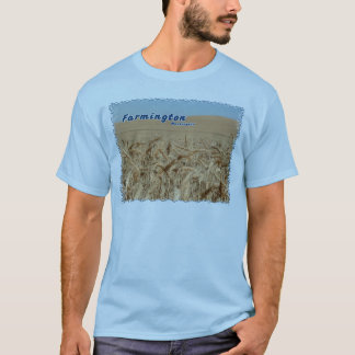 Farmington Washington Wheat Field T-Shirt