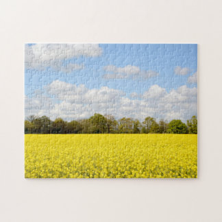 Farmland in summer jigsaw puzzle