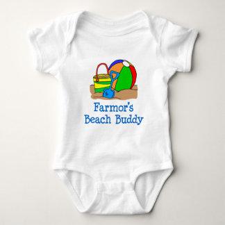 Farmor's Beach Buddy Baby Bodysuit