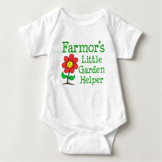 Farmor's Little Garden Helper Baby Bodysuit