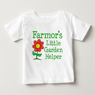 Farmor's Little Garden Helper Baby T-Shirt