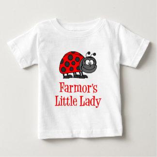 Farmor's Little Lady Baby T-Shirt