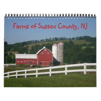 Farms of Sussex County NJ Calendar 2013