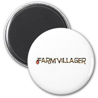 farmvillager stuff 2 inch round magnet