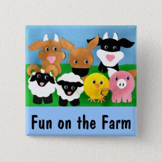 Farmyard Gang Button
