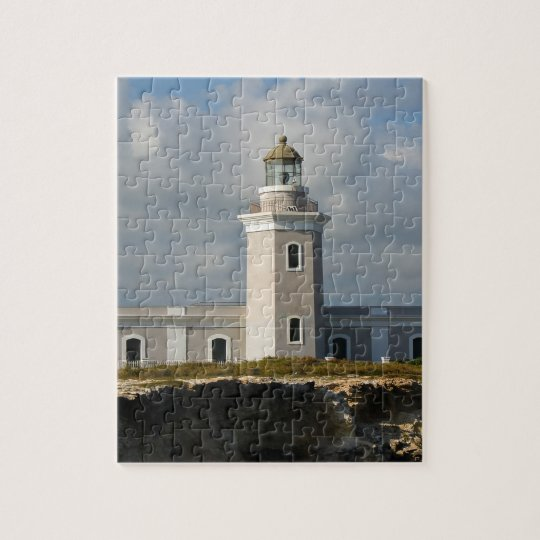 Faro de Los Morillos de Cabo Rojo Jigsaw Puzzle