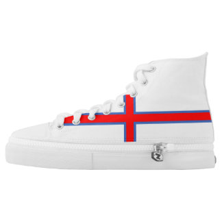 faroe island country flag long symbol high tops