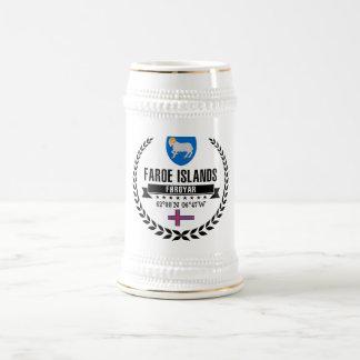 Faroe Islands Beer Stein