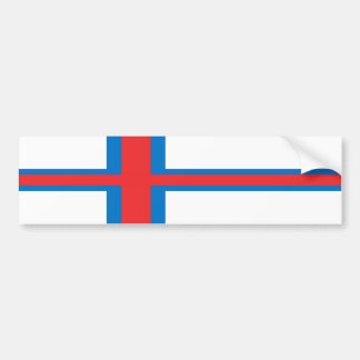 Faroe Islands Bumper Sticker