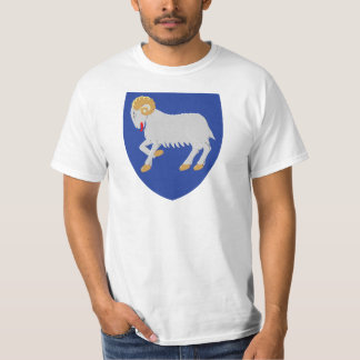 Faroe Islands Coat of arms FO T-Shirt