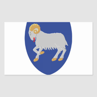 Faroe Islands (Denmark) Coat of Arms Sticker