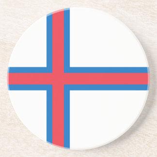 Faroe Islands Flag Coaster