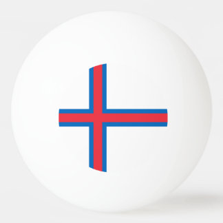 Faroe Islands Flag Ping Pong Ball