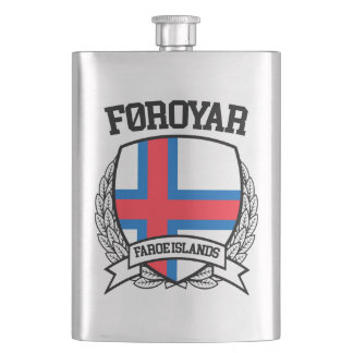 Faroe Islands Hip Flask