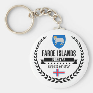 Faroe Islands Keychain