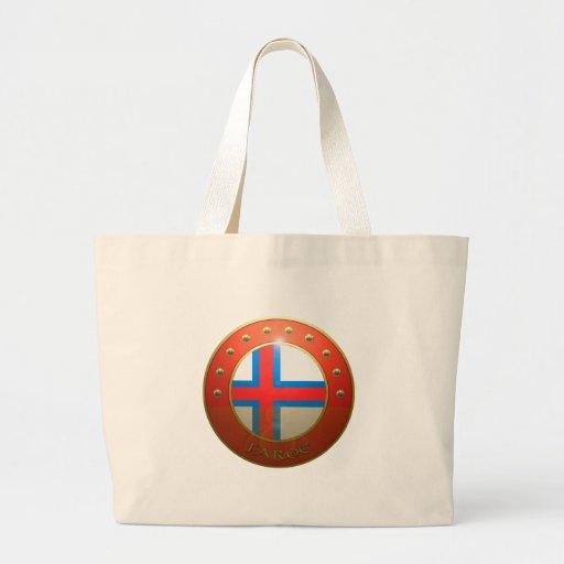 Faroe Shield Tote Bags