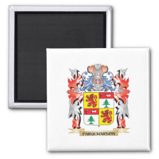 Farquharson Coat of Arms - Family Crest Square Magnet