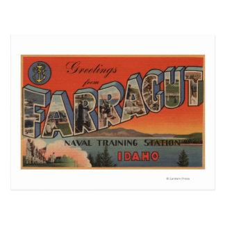 Farragut, Idaho - Large Letter Scenes Postcard