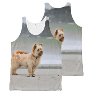Farris - Lucy - Mixed Breed All-Over-Print Tank Top