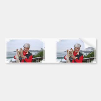 Farris - Lucy - Mixed Breed Bumper Sticker