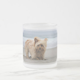 Farris - Lucy - Mixed Breed Frosted Glass Coffee Mug