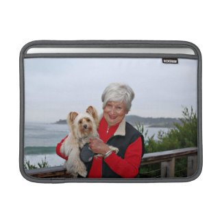 Farris - Lucy - Mixed Breed MacBook Sleeve
