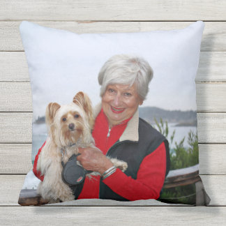 Farris - Lucy - Mixed Breed Outdoor Pillow