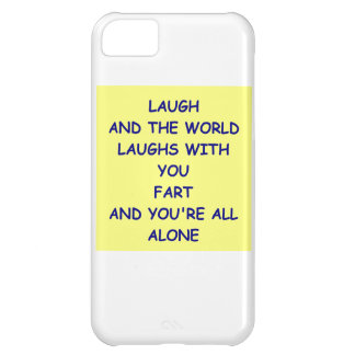 fart iPhone 5C covers