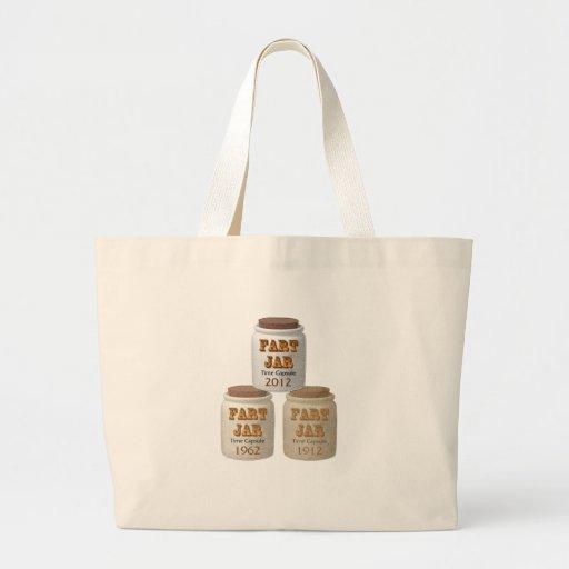 Fart Jar Time Capsules Tote Bag