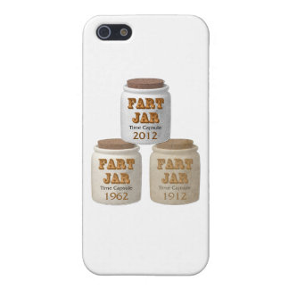Fart Jar Time Capsules Covers For iPhone 5