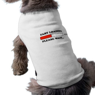Fart loading doggie tee shirt