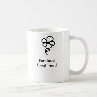 Fart loud.Laugh hard. Coffee Mug