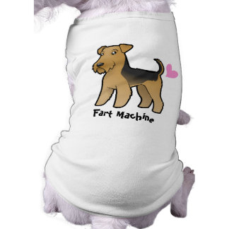 Fart Machine (Airedale Terrier / Welsh Terrier) Pet Tee Shirt