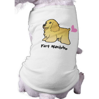 Fart Machine (American Cocker Spaniel) Pet Shirt