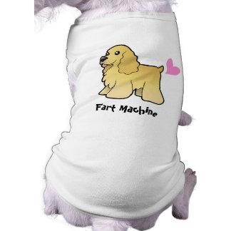 Fart Machine (American Cocker Spaniel) Dog Tee Shirt